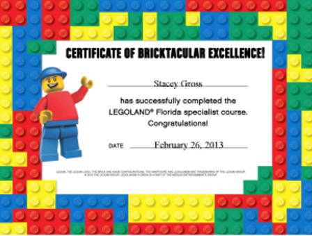 Stacey Gross with Favorite Place Travel is a LEGOLAND Florida Specialist